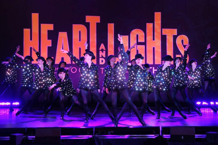 "The Rockettes Give Sneak Peek Performance from their New Production ""HEART AND LIGHTS"""